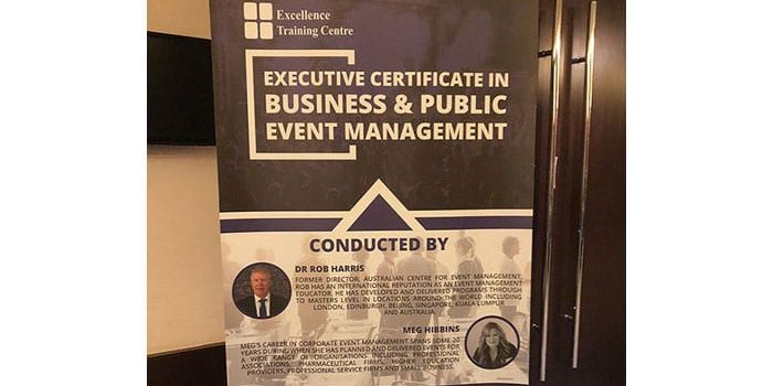 middle east event management training courses qatar