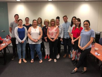 Executive Certificate in Event Management Course Participants Melbourne April 2019
